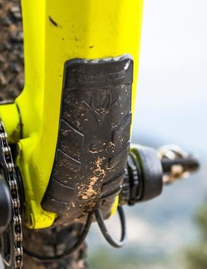 Carbon frames deserve a bit of protection from rock strikes