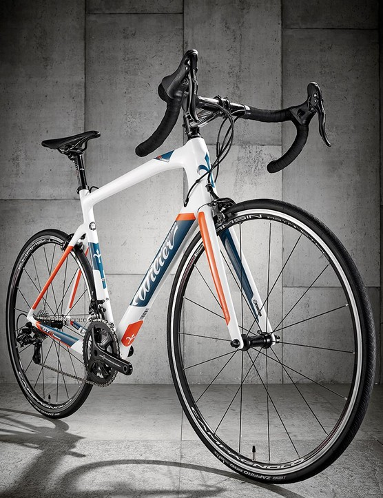 In typical Italian style Wilier hasn't deviated hugely from its race bike geometry