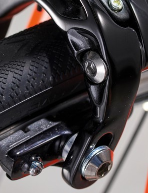 Campagnolo Potenza brakes perform well