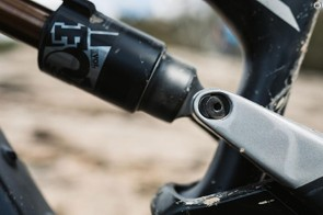 The flip chips lets you change the head tube and seat tube angle, and lowers the bottom bracket for either a more aggressive or trail friendly ride
