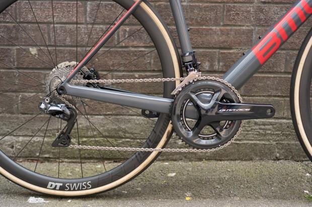 Drivetrain of high-end road race bike
