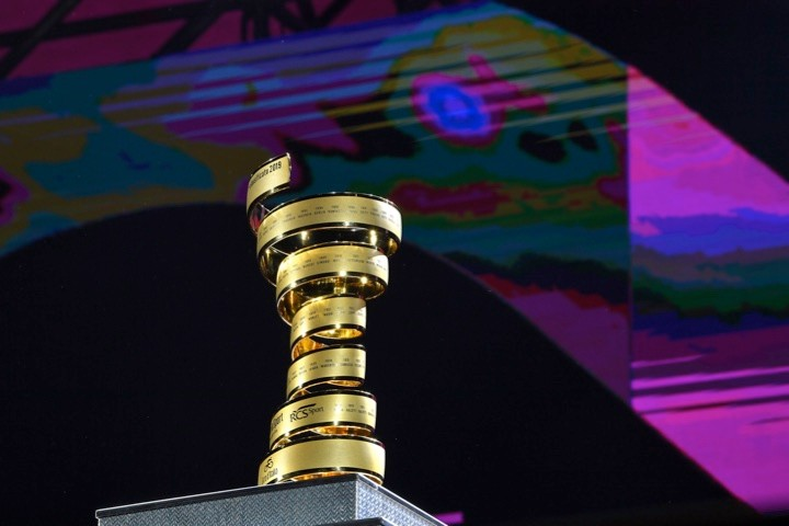 Giro d'Italia winner's trophy