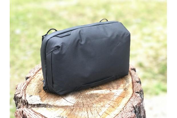External shot of Peak Design Tech Pouch bag