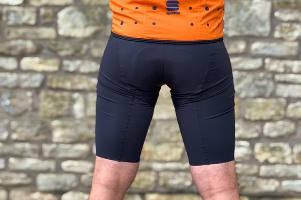 Man wears 7Mesh MK3 padded cycling short