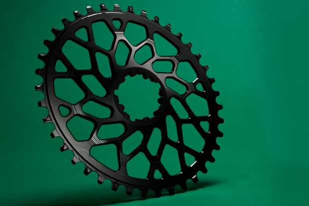 Road bike direct-mount chainring