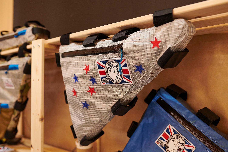 Alpine Luddites custom frame bag