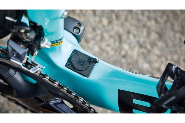 Teal road e-bike battery