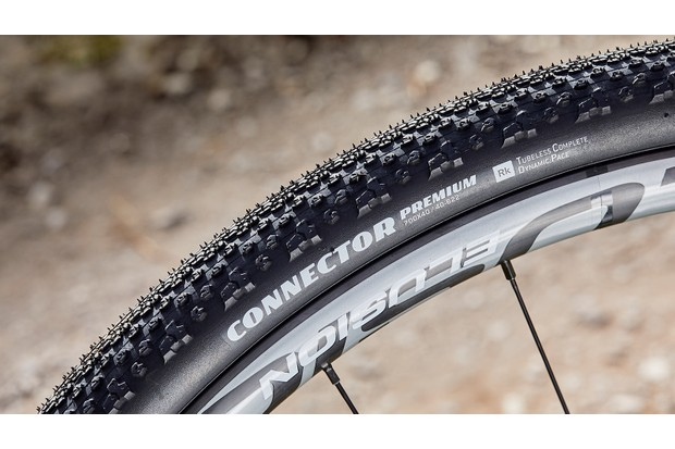 Goodyear Connector tyres on road bike