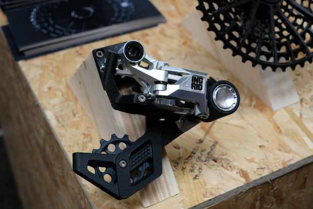 Ingrid Components 1x12 prototype groupset at Bespoked 2019