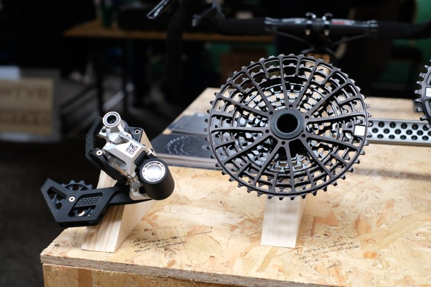 Ingrid components 1x12 groupset at Bespoked 2019