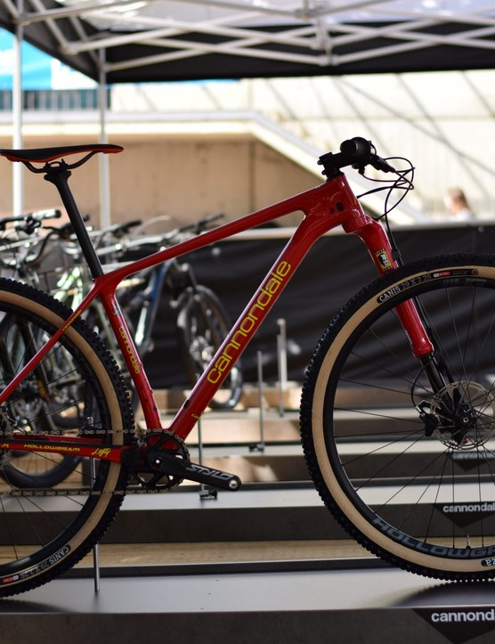 cannondale f-si in red
