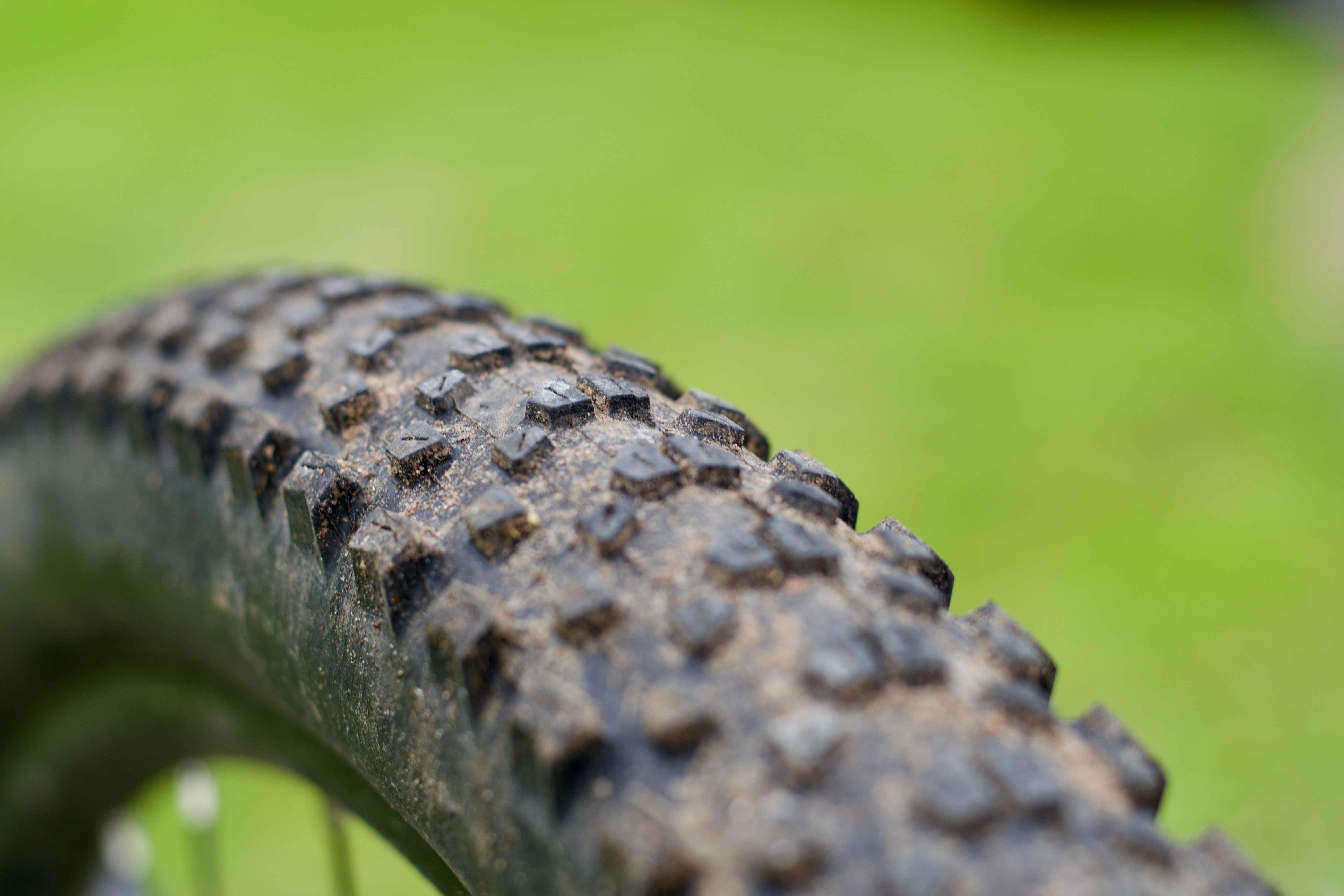 Picture of a Maxxis Ikon tyre's tread