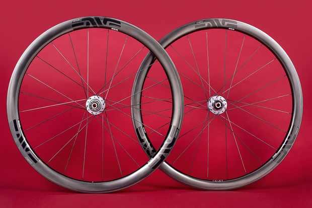 ENVE wheelset for road bike
