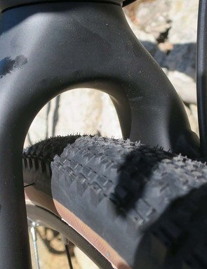 Tyre clearance