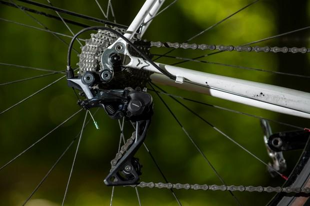 Shimano GRX gravel riding specific rear bicycle derailleur