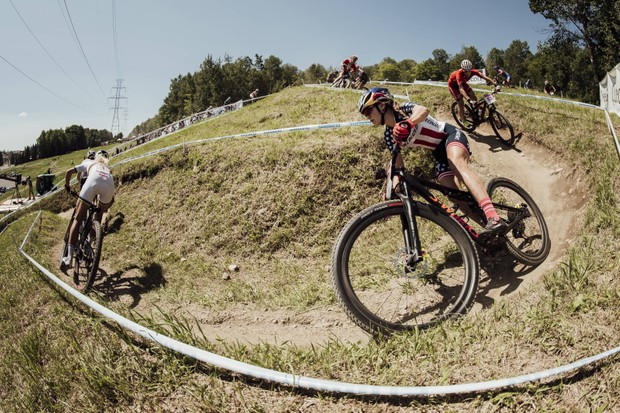 Kate Courtney UCI Mountain Bike World Championships 2018 - Mont-Sainte-Anne Canada