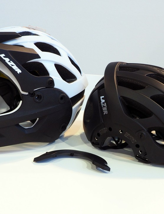 mountain bike helmet prototype