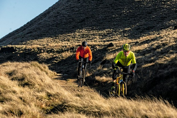 Mark Bailey and Nick Craig gravel riding in the Peak District