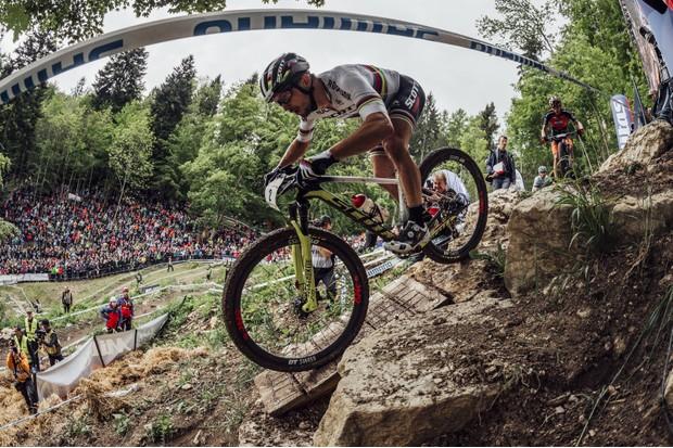 Nino Schurter UCI MTB World Cup 2018 Albstadt (Red Bull)