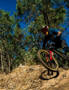 Sam Hill riding the new Dissent