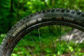 Maxxis Minion DHR mountain bike tyre