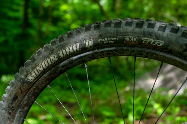 Maxxis Minion DHR mountain bike tyre