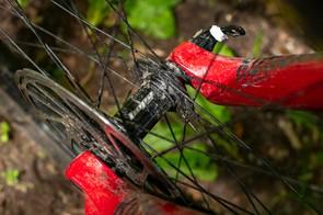 Hope Pro 4 front mountain bike hub