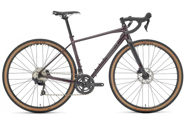 Bronze road bike