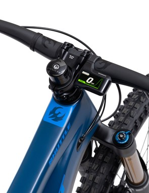 Pivot electric mountain bike display screen
