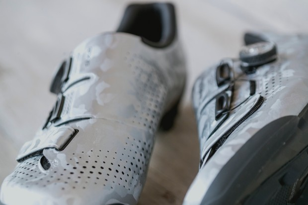 Shimano RX8 shoes from the top