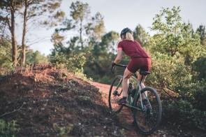 Scott Sports female gravel rider