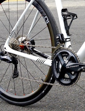 Hydraulic groupset for road bike
