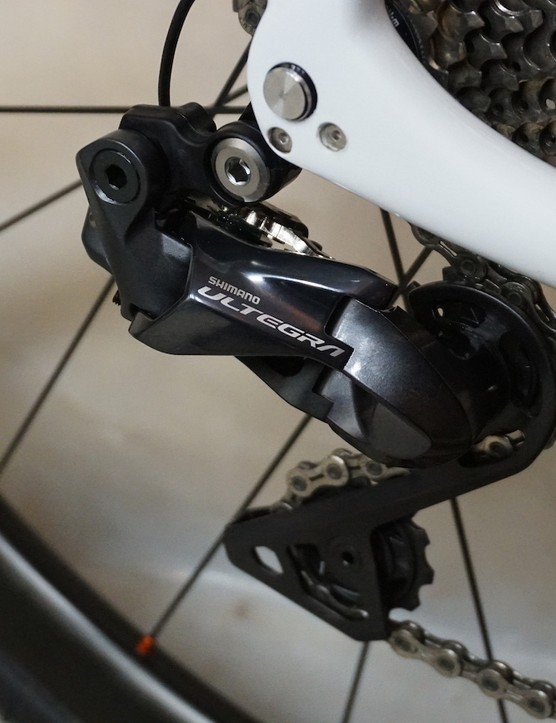 derailleur from groupset for road bike