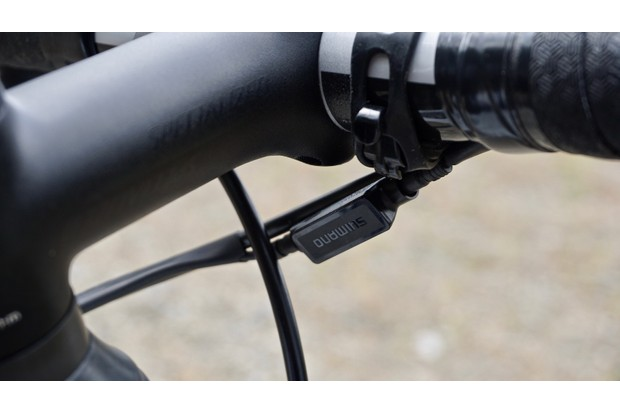 Bluetooth connector from groupset for road bike