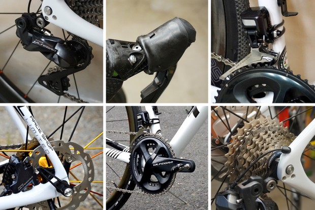 Shimano groupset for road bike