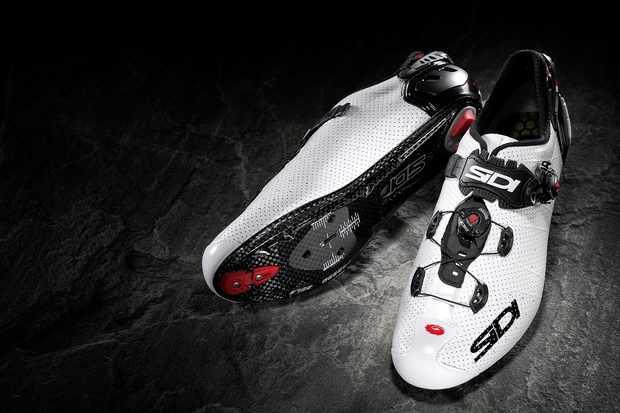 White road cycling shoe