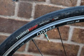 DT Swiss R460 QR wheels