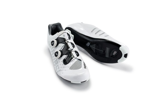 white road cycling shoe