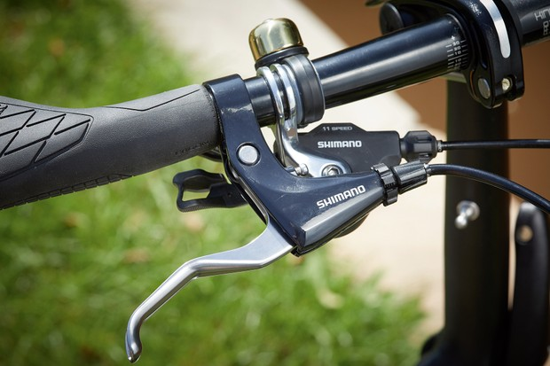 Shimano gears and brake levers