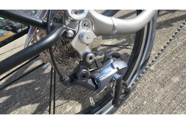 Tern BYB folding road bike Ultegra gears