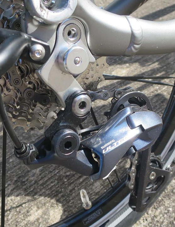 folding road bike Ultegra gears