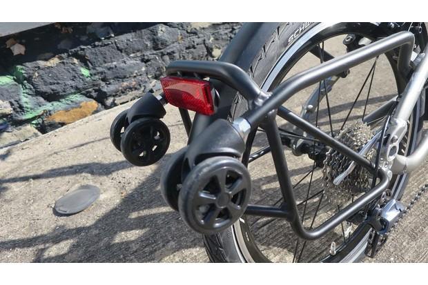 Tern BYB folding road bike rear rack
