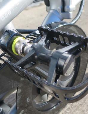 folding road bike pedals