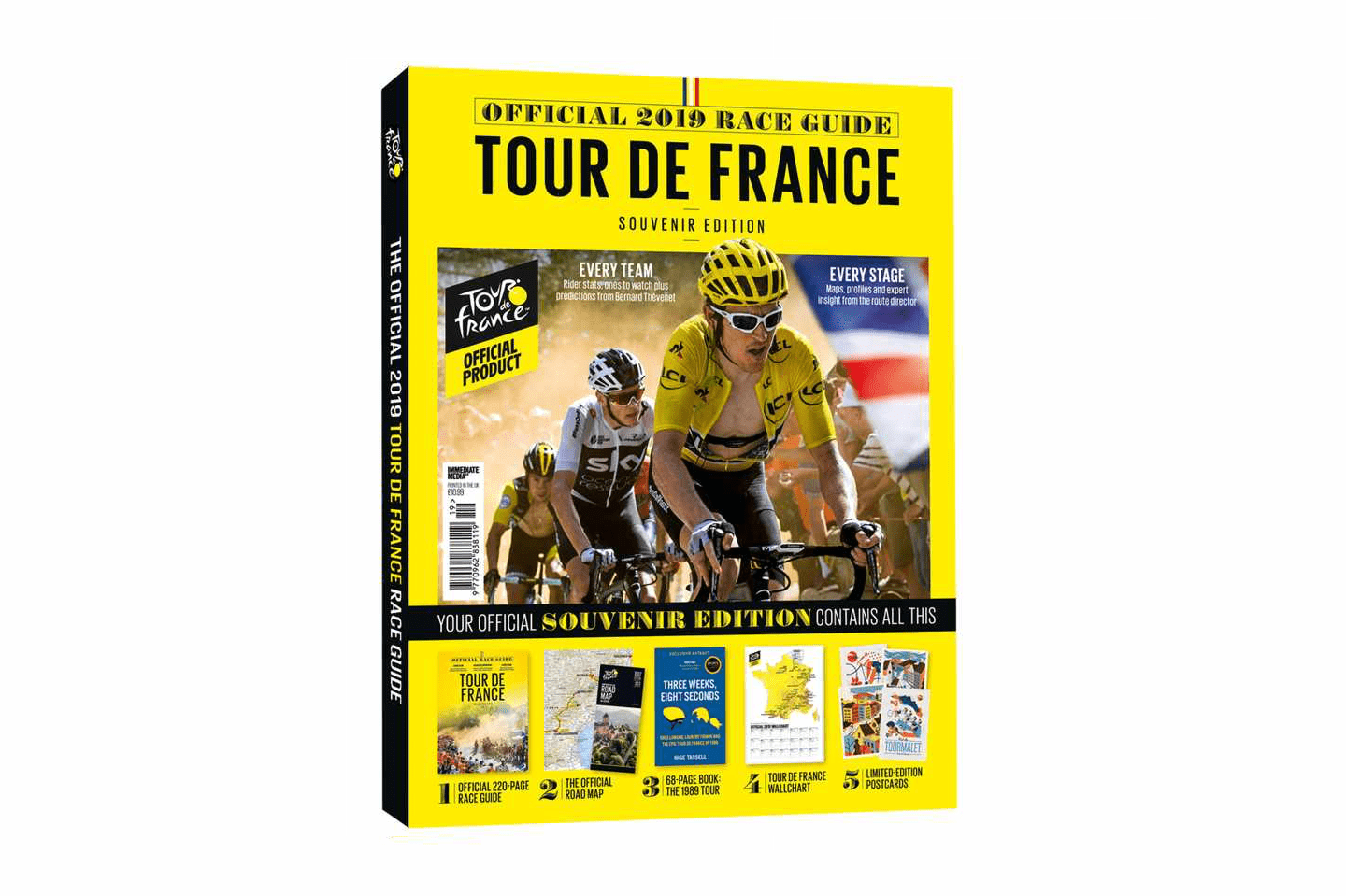 The Official Tour de France Race Guide 2019 box front