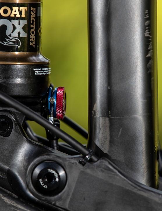 mountain bike rear shock mount
