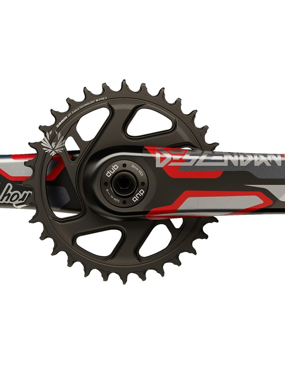 TLD Truvativ collaboration crankset
