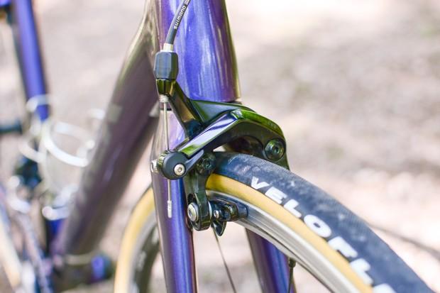 Front brake of road bike