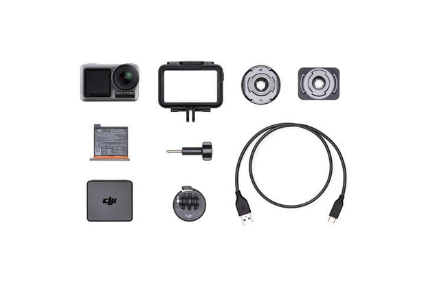 DJI Osmo Action camera and accessories