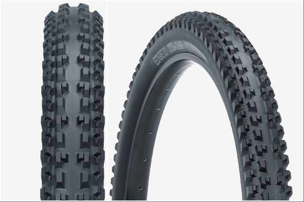 The new Tioga front tyre is designed to provide better traction over a wider range of lean angles
