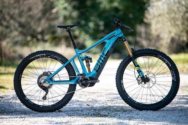 BMC electric mountain bike